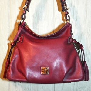 Dooney & Bourke Mulberry Teagan Smooth Leather Bag